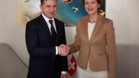 В ОП пояснили, зачем президент Швейцарии посетит Донбасс с Зеленским