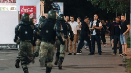 В Беларуси только за минувшие сутки задержали 700 демонстрантов