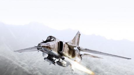 МиГ-27 потерпел крушение в Индии - от гордости авиастроения РФ почти ничего не осталось