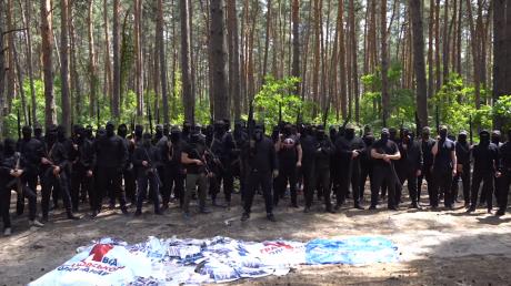 Украина, Националисты, Черные человечки, Политика, Обращение.