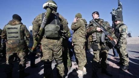 """Пресс-центр """"Север"""": боевики нанесли удар из минометов по нашему блокпосту в Золотом"""