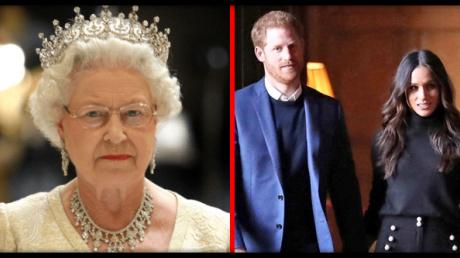 """""""Держала в кабинете 4 часа"""", - Елизавета II поставила Меган Маркл и принцу Гарри суровый ультиматум"""
