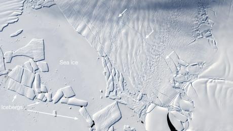 Антарктида, ледник, таяние льдов, новости,наука, изменение климата, уровень океана