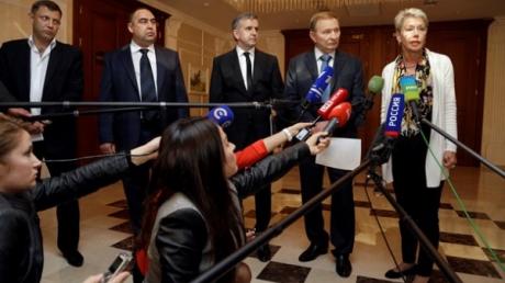 Переговоры трехсторонней контактной группы по кризису в Украине в Минске. Прямая трансляция и хроника событий