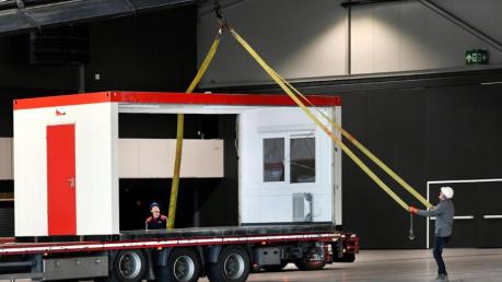 """Концертный зал """"Евровидения"""" в Роттердаме переделывают под блоки для больных"""