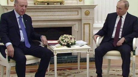 эрдоган, путин, москва, россия, переговоры, ожидание, сирия, война