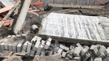 В России во время стройки ТЦ произошел обвал: много погибших, выжил только один строитель