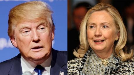Праймериз в США: лидерство захватили Дональд Трамп и Хилари Клинтон среди республиканцев и демократов соответственно
