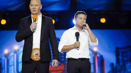 Зеленский, Кошевой, дебаты, выборы президентов, 95 квартал, США, Украина, видео
