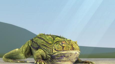 В Калифорнии обнаружили лягушку-великана: 30 кг веса и ростом до одного метра