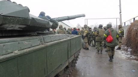"""""""Азов"""": ночью террористы пошли на прорыв под Широкино"""