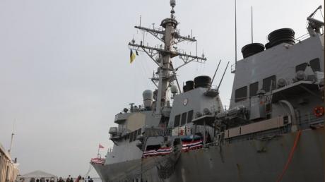 """Родственники пленных моряков не смогли попасть на американский эсминец """"Дональд Кук"""" в Одессе - подробности"""