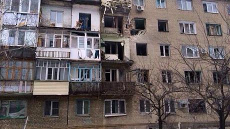 ОБСЕ: Центр Дебальцево практически полностью уничтожен