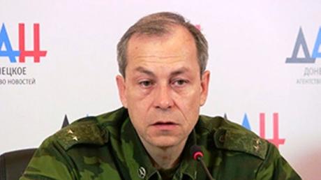 Эдуард Басурин: Ополчение ДНР полностью прекратило огонь