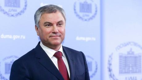 """Володин угрожает Украине за призывы вернуть Крым: """"Мы потребуем экстрадиции тех, кто говорит об этом"""""""