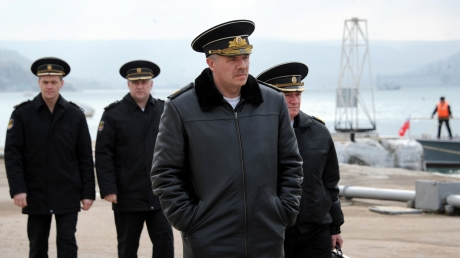 Главе ЧФ России Витко военная прокуратура вручила подозрение в преступлениях против Украины, повлекших за собой аннексию украинских территорий