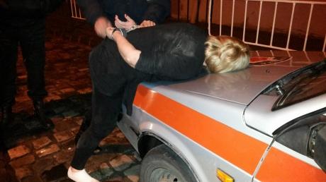 Украина, Львов, полиция, патрульные, авто, нарушение, ЛНУ