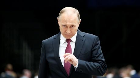 """""""Так грубо и нагло, пожалуй, в первый раз"""", - Путин заявил о """"грандиозной афере"""" США, обвинив американцев в """"госперевороте"""" в Украине"""