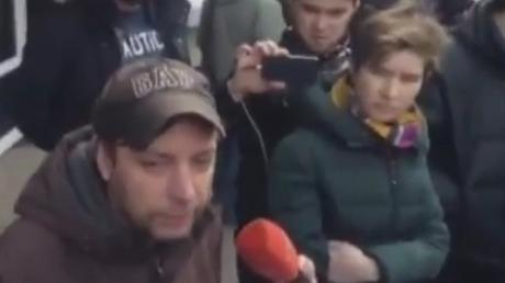 """Активисты """"Правого сектора"""" озвучили свои основные требования на """"Марше Правды"""""""