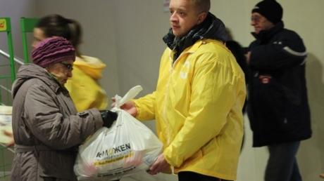 """Где будет выдаваться гуманитарная помощь гуманитарного штаба """"Поможем"""" 25 февраля. Список адресов"""