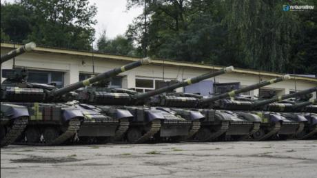 """Усиление ВСУ: в Украине запустили модернизацию танков """"Т-64"""" – видео"""