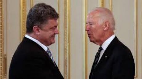 Порошенко и Байден договорились о координации совместных усилий вокруг Донбасса