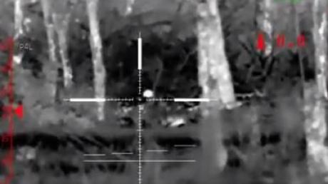 Новое оружие ВСУ в действии: мощные кадры ликвидации на Донбассе российского снайпера - шансов выжить не было