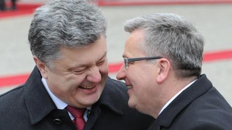 Коморовский: Польша поддержит инициативу Украины о вводе миротворворцев