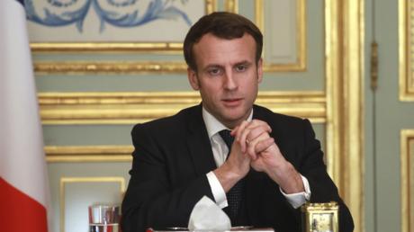"""""""У меня нет другого выбора"""", - Макрон о радикальных мерах во Франции из-за коронавируса"""