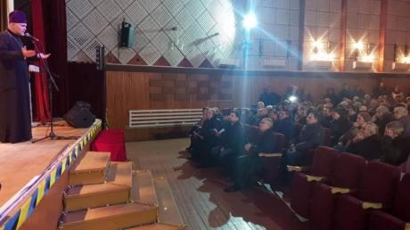 На Одесчине в ПЦУ перешли верующие целого райцентра вместе с благочинным – кадры