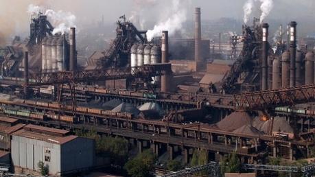 ДонОГА: ежесуточное производство стали упало на 20,3%, проката - 24%