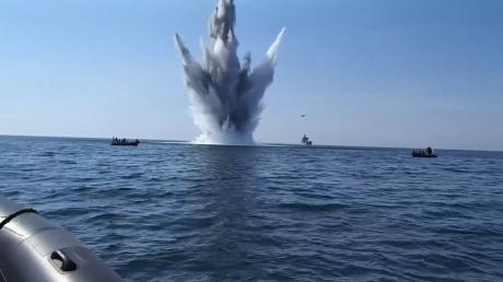 Украина, Азовское море, Россия,  Кремль, Война, Атака, Давление, Мины, Гайдук.