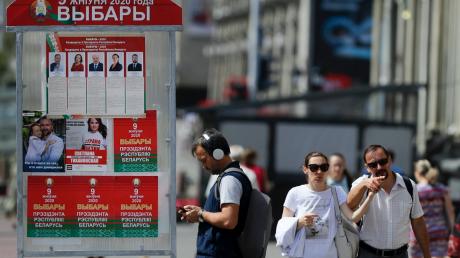Выборы в Беларуси: в ЦИК огласили первые результаты