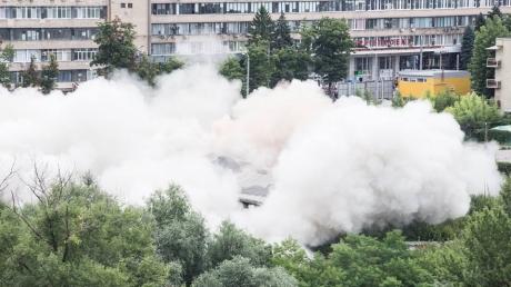 В Сети обнародовали кадры взрыва в центре Харькова - названа причина происшествия