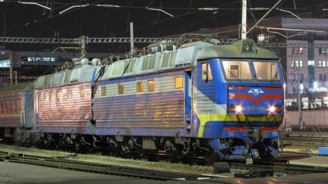 С 23 февраля поезд Киев - Константиновка будет ездить по новому маршруту