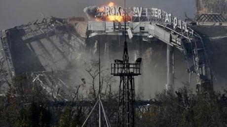 Минобороны: в донецком аэропорту найдены тела еще семи украинских бойцов