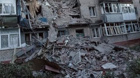 ОБСЕ: Луганск обстреляли кассетными боеприпасами