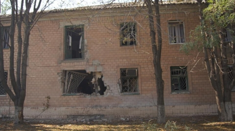 Ночь в Луганске прошла под канонаду обстрелов