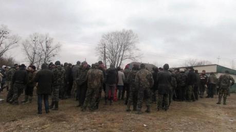 Украина, Ровенская область, янтарь, незаконная добыча, общество, драка с полицией