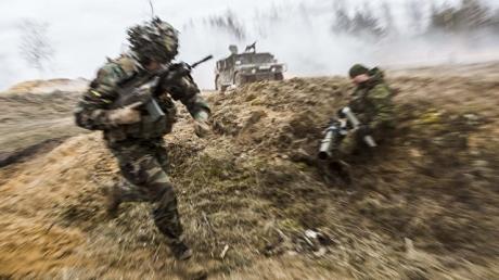 """""""Железные волки"""" ЕС собрались в Литве на военные учения, чтобы """"русские медведи"""" из Кремля даже не пытались начинать войну против Балтии"""