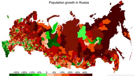 Россия вымирает с рекордной скоростью: демографические данные потрясли Сеть, россияне проклинают Путина