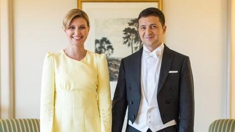 Зеленский показал личное фото с женой Еленой из Японии