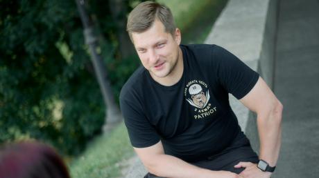 В Киеве задержан ветеран АТО Александр Погребиский: его обвиняют в нападении на нардепа Волошина