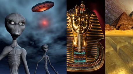 Рептилоиды с Нибиру через портал в египетской пирамиде доставили провизию в секретную лабораторию
