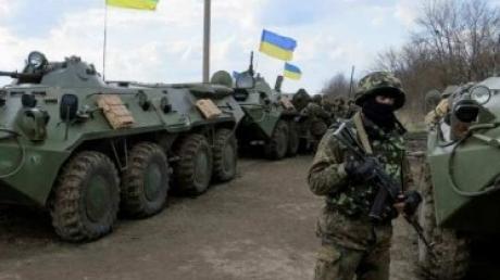 Минобороны Украины: Под Дебальцево группа ВСУ попала в засаду и плен