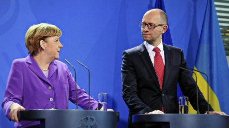 Яценюк, кабмин, Рада, политика, Меркель