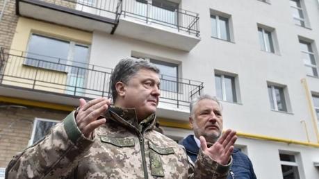 Порошенко озвучил страшные цифры разрушенных домов на Донбассе и оставшихся без жилья дончан