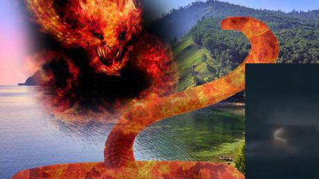 Над озером Байкал парили огненные драконы, которые отравят воду токсическим ядом