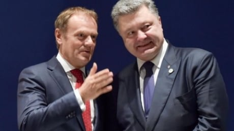 Порошенко и Туск обсудили рамки введения Евросоюзом безвизового режима для украинцев