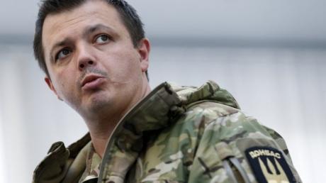 Семенченко: я поддерживаю заявление Яроша, его поддерживает еще 17 батальонов